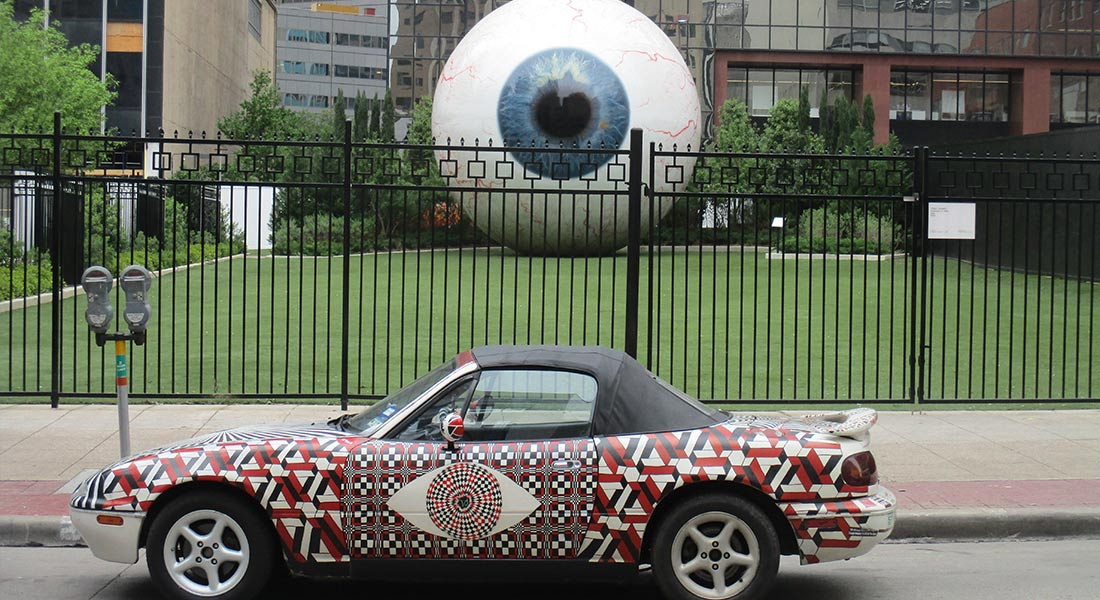 Dallas, Texas - Giant Eyeball
